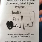 Health Solutions Inc. participates at the SVG Community College Health Fair in Villa